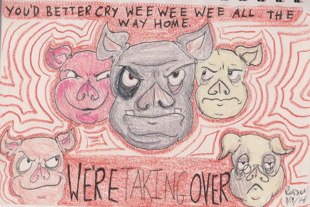 Animal farm squealer propaganda essay | Coursework Sample