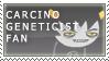 carcinoGeneticist Fan Stamp by RyujiDicey