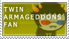 twinArmageddons Fan Stamp by RyujiDicey