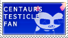 centaursTesticle Fan Stamp by RyujiDicey