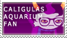 caligulasAquarium Fan Stamp by RyujiDicey