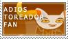 adiosToreador Fan Stamp by RyujiDicey