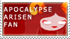 apocalypseArisen Fan Stamp by RyujiDicey