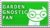 gardenGnostic Fan Stamp by RyujiDicey