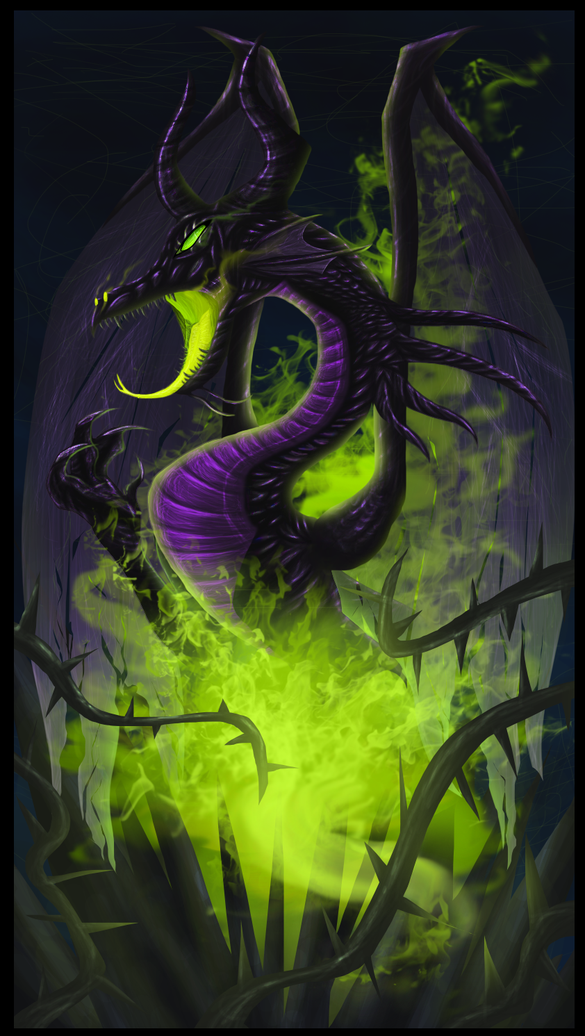 Maleficent Dragon Wallpaper //Maleficent\\ by Xycu...