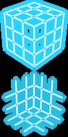 Neon Cube Prop