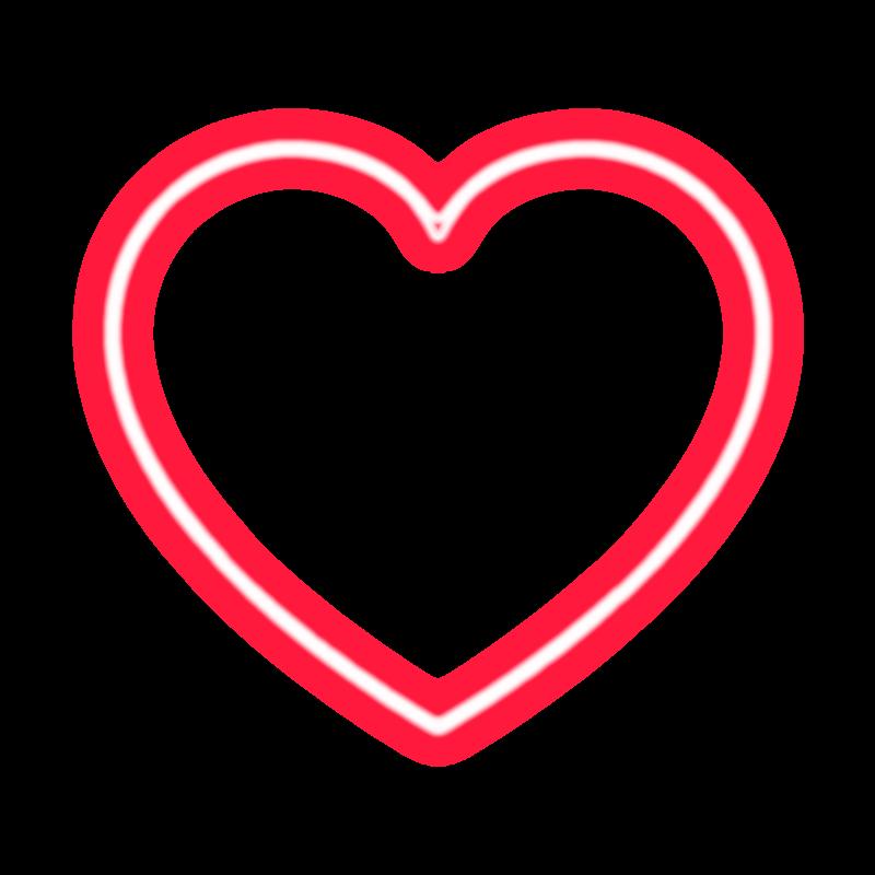 neon heart by tessa4393 on deviantart