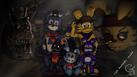 [SFM/OC] 'The Bunnies Squad! (...and James!) by catanesco