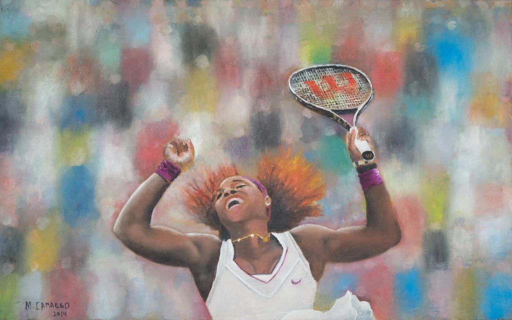 Serena 7 by marcelocamargoart