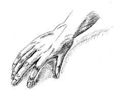 Hand Study I by NezumiWorks