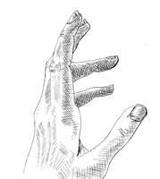 Hand Study II by NezumiWorks