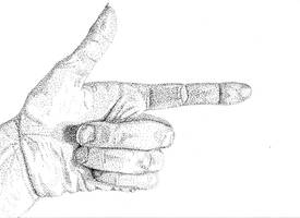 Hand Study III by NezumiWorks
