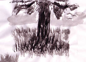 Brush tree by NezumiWorks