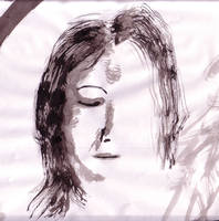 Ink woman by NezumiWorks