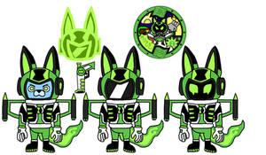 Ben10 Crossover Alien : Galabbit