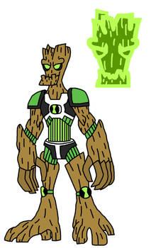 Ben10 Crossover Alien : Bark Buster or Entree