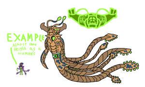 Ben10 Crossover Alien : Leviatide