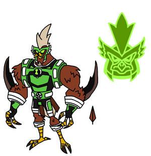 Ben 10 New Omniverse: Kickin Hawk