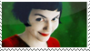 Amelie Poulain stamp by Flurish