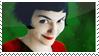 Amelie Poulain stamp by Flurish