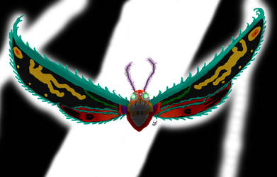 Mothra Virgo by C-y-n-d-i