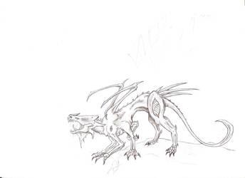 Blood Demon 1 by jaszczura1