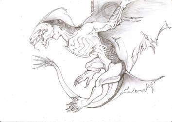 Dragon by jaszczura1