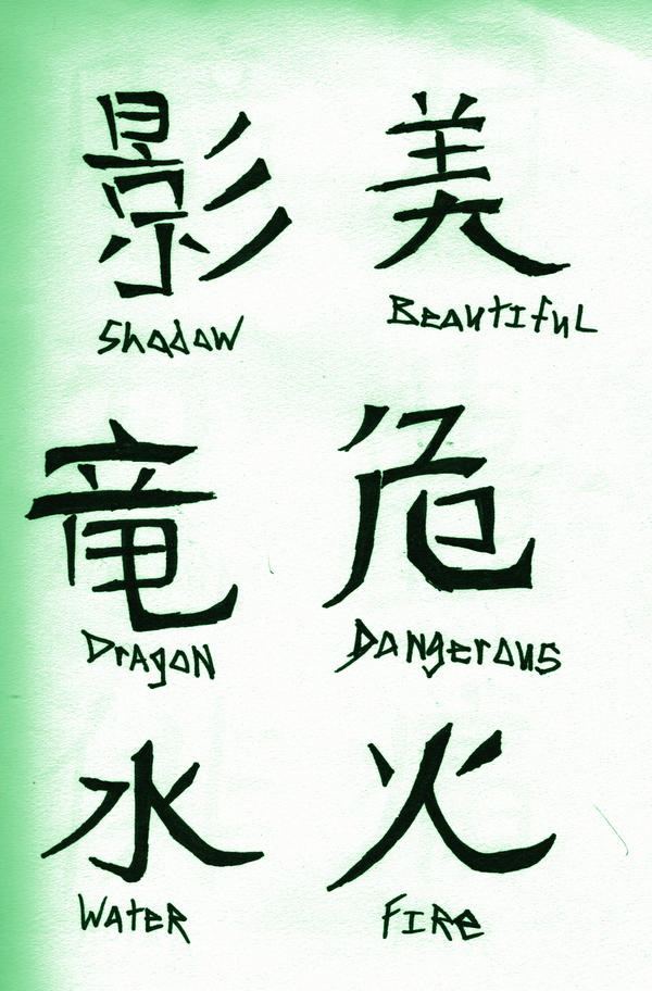 Japanese Kanji Tattoo Design Picture 4