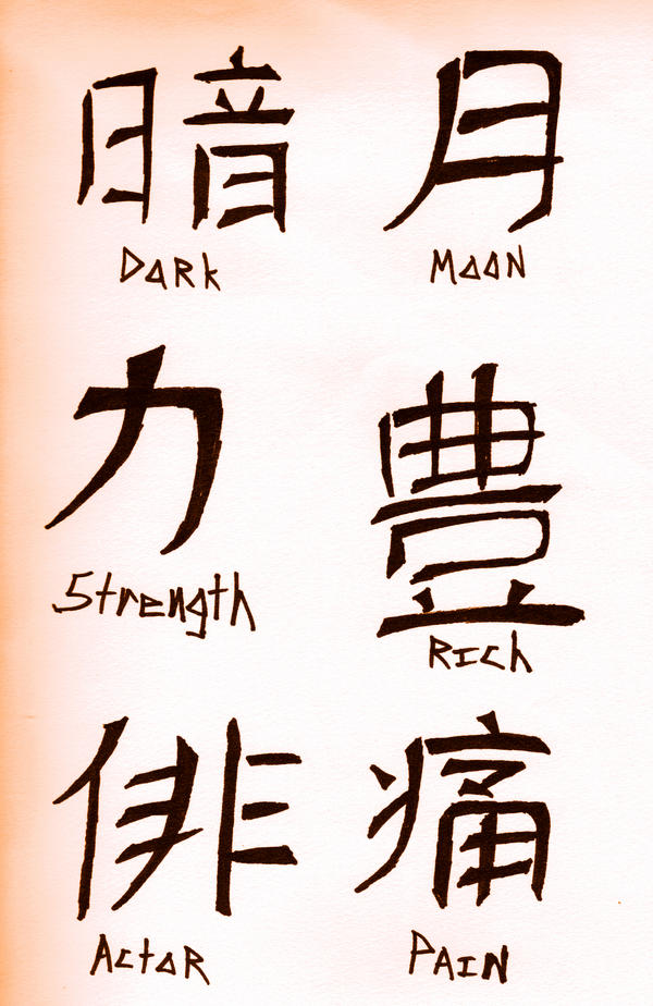 Japanese Kanji Tattoo Design Picture 3