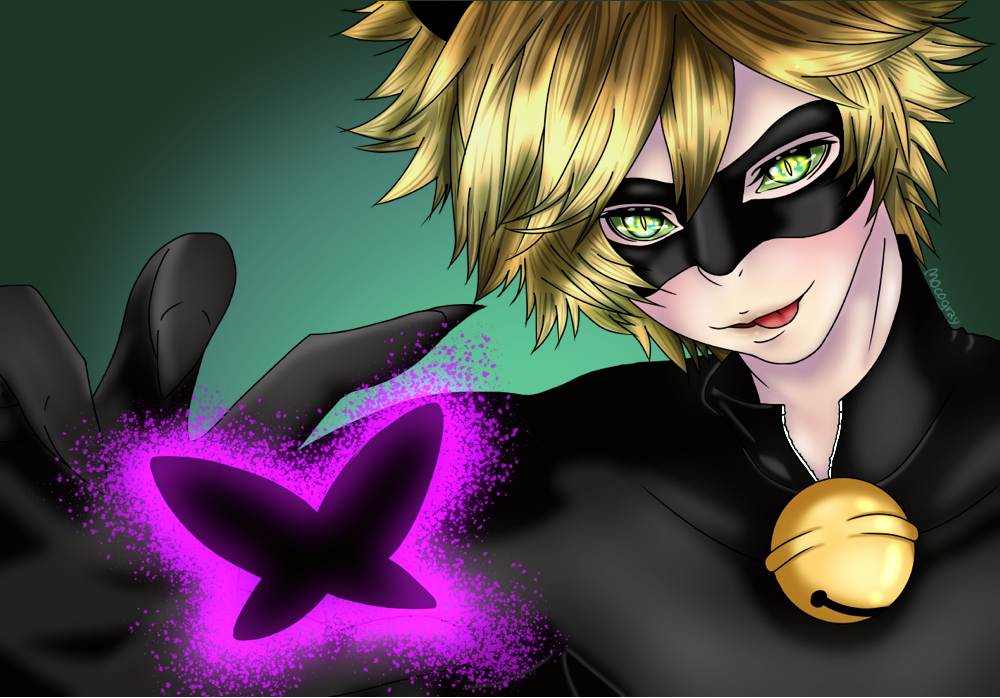 Cat Noir by MocoGray