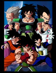 Poster dragon ball super broly (the movie) by alexbocioart
