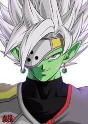 Zamasu  Dragon Ball Heroes by alexbocioart
