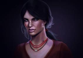 Uncharted The Lost Legacy - Chloe Frazer by DearFellowArtist