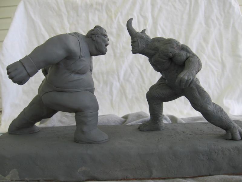 Blob vs Rhino by synn1978