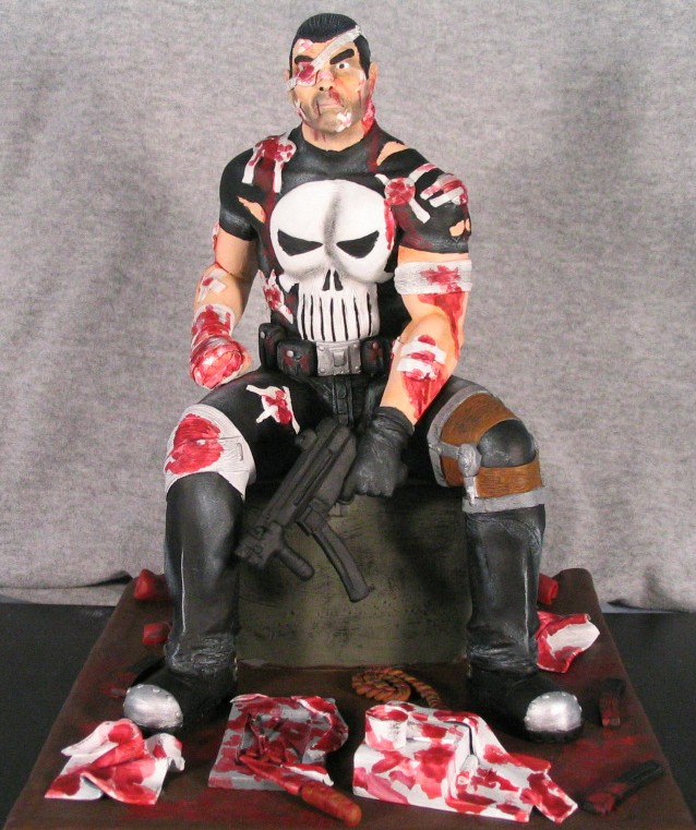 punisher painted by synn1978