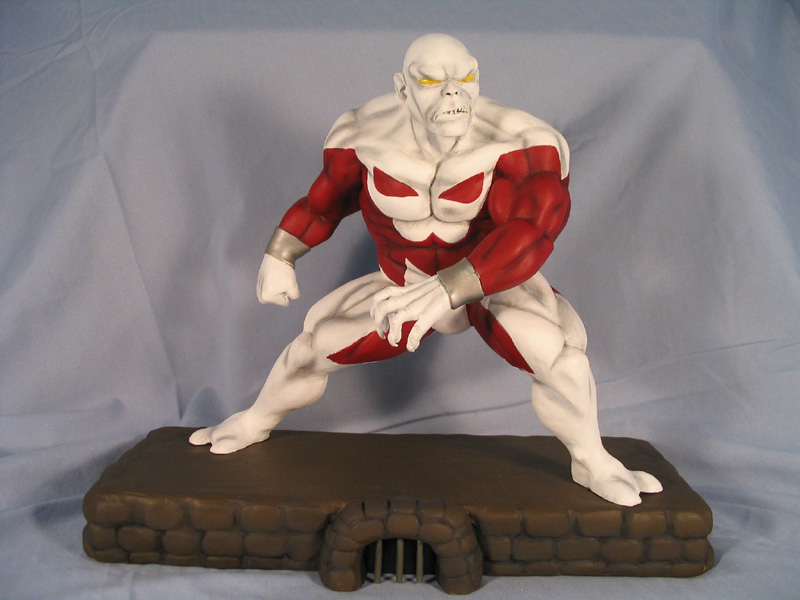Caliban statue by synn1978