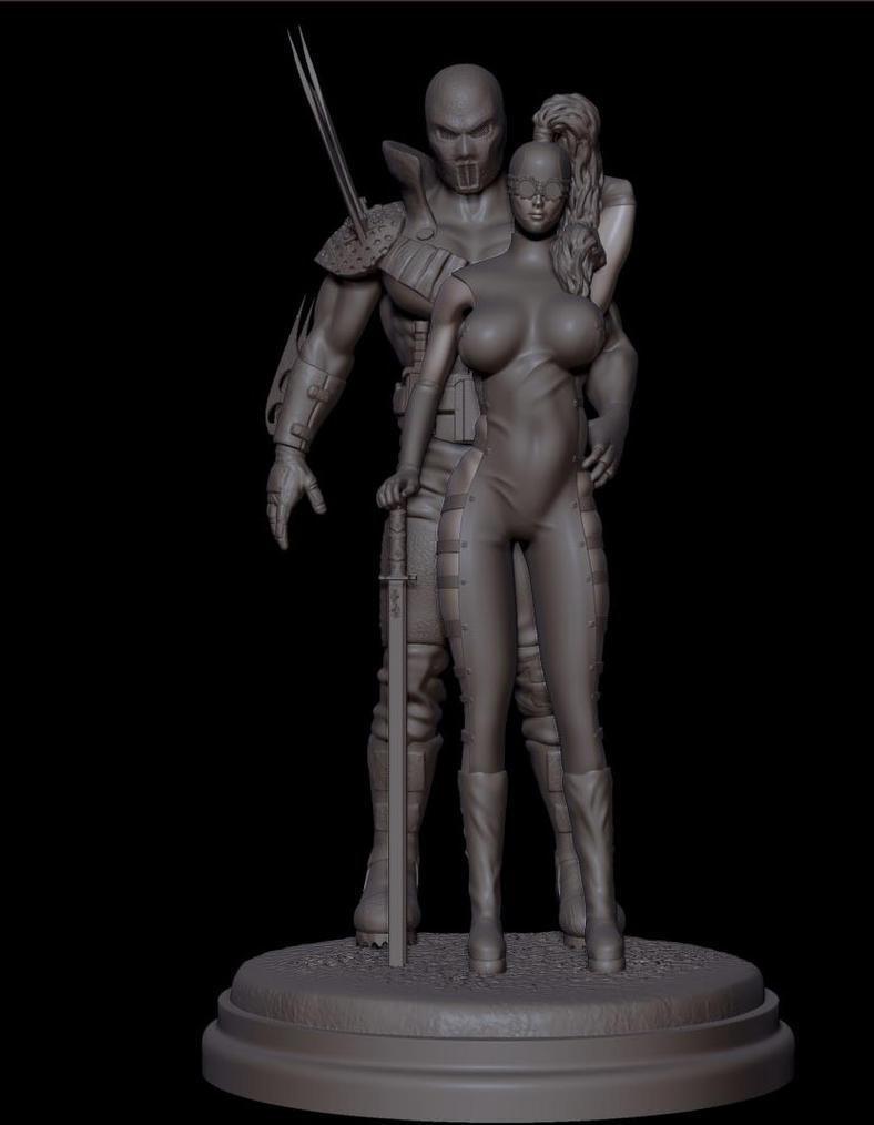 apocalyptic couple by synn1978