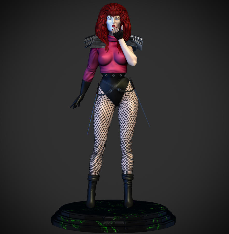 Marvels Typhoid Mary by synn1978