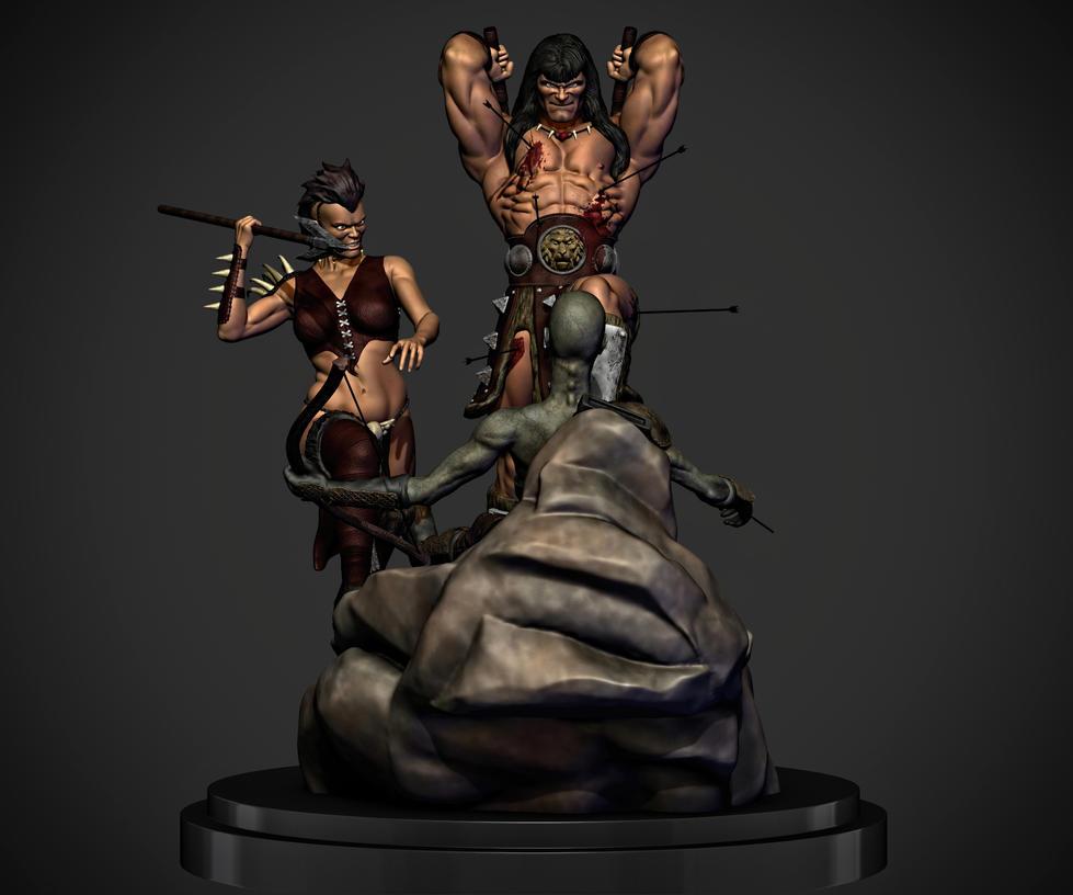 Conan the barbarian. by synn1978