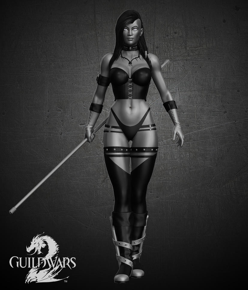 Guild Wars 2 character. by synn1978