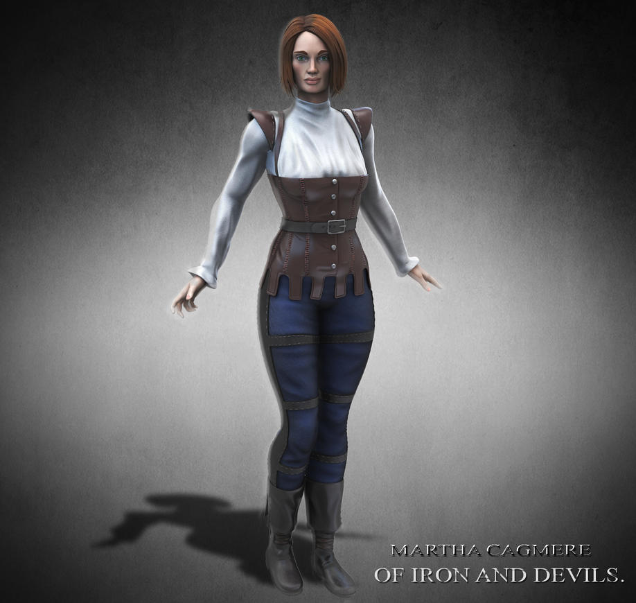 Character concept from my book. by synn1978