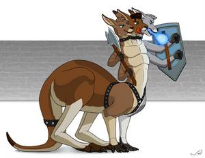 COM - Cerberus Rootaur Warrior