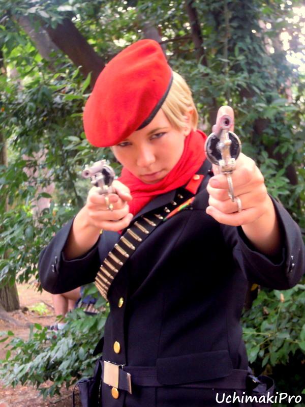 Revolver ocelot cosplay - photo#1