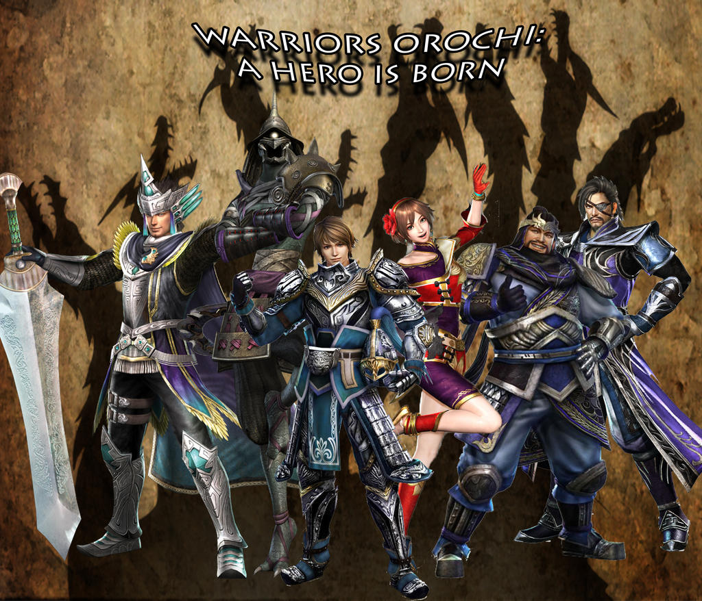 Warriors Orochi 3: A Hero Is Born -Cover 1- By Black-Bird