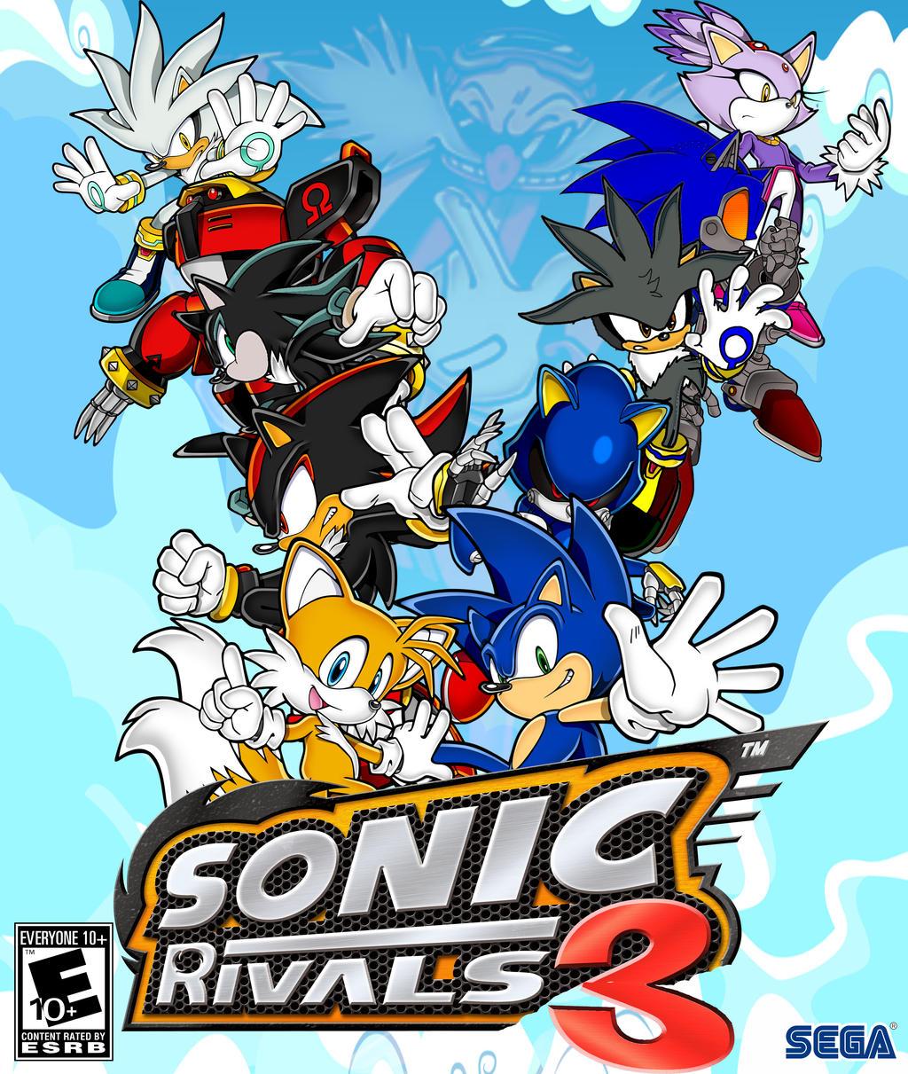 Sonic Rivals 3 Fan Made By Black Bird Zaiden On Deviantart