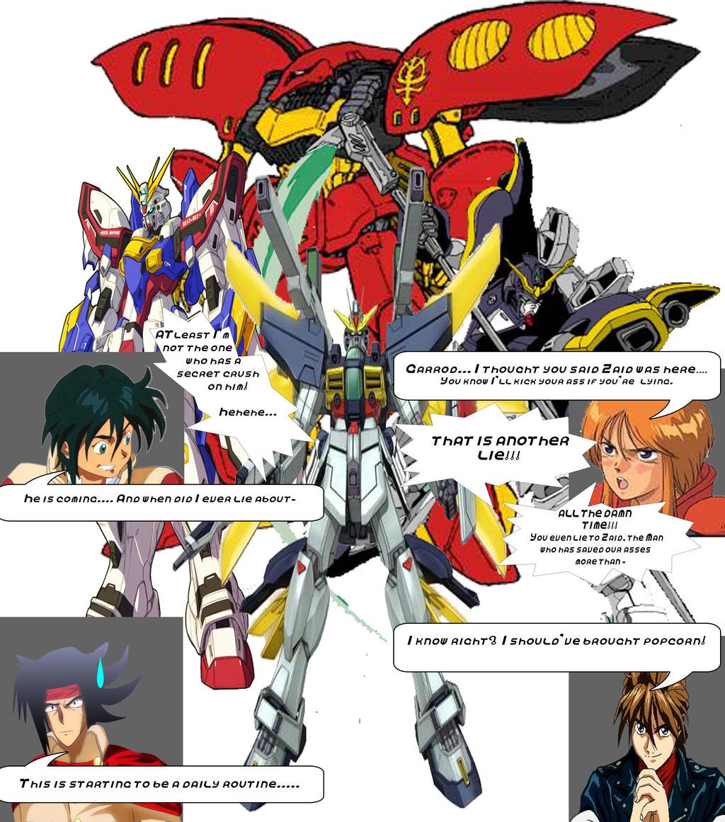 Gundam wrath dialogue preview by black bird zaiden on for Domon man 2015