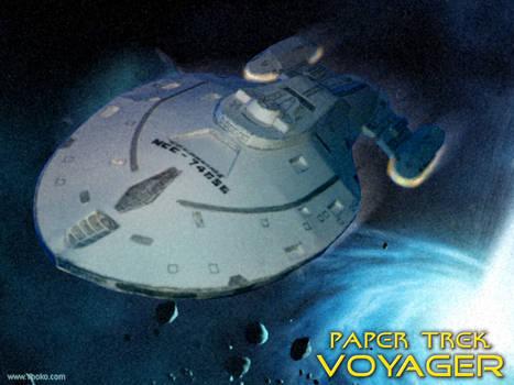 Paper Trek - Starship Voyager