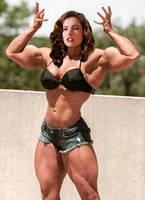 Heather Langenkamp pretty muscular by Turbo99
