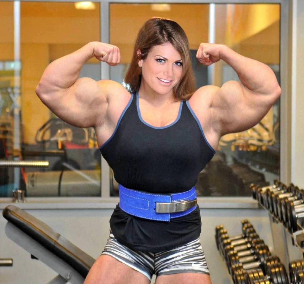 Jenny Guns Muscle Morphed By Turbo99 On DeviantArt