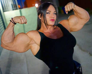 Helle Trevino Muscle Morph by Turbo99